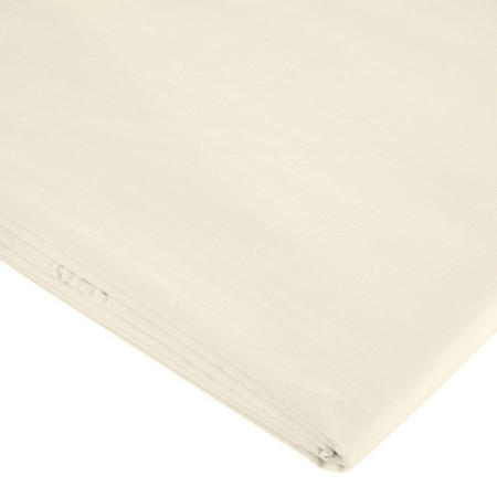 400 Thread Count Ivory Egyptian Cotton Sheet