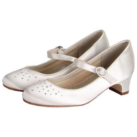 Verity Sparkle Shoes White