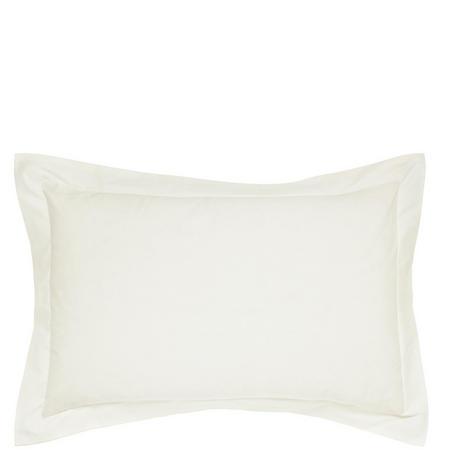 Percale Oxford Pillowcase Ivory