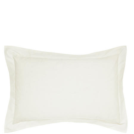 Percale Standard Pillowcase Ivory