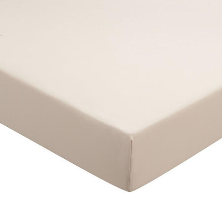 Percale Fitted Sheet  Linen