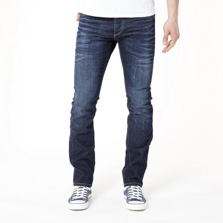 Clark Original Regular Jeans Dark Blue Wash