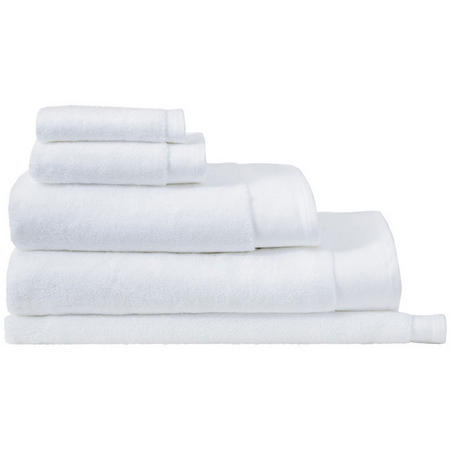 Luxury Retreat Towels White