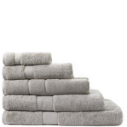 Luxury Egyptian Towels Silver