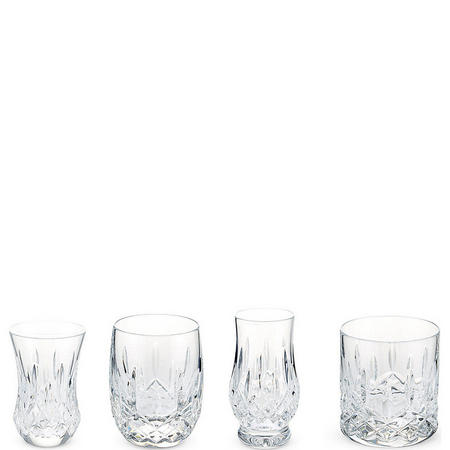 Lismore Connoisseur Whiskey Collection Tumbler Set of 4