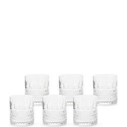 Lismore Connoisseur Whiskey Tumbler 6 Piece Set
