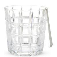 Crosby Ice Bucket & Tongs
