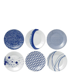 Pacific 16 Cm Plates 6 Piece Set