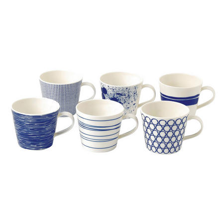 Pacific Mugs 6 Piece Set