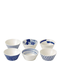 Pacific Bowls 6 Piece Set