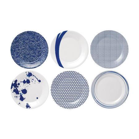 Pacific 23 Cm Plates 6 Piece Set