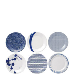 Pacific 23 Cm Plates 6 Piece Set