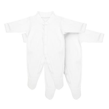 2 Pack Sleep Suit White