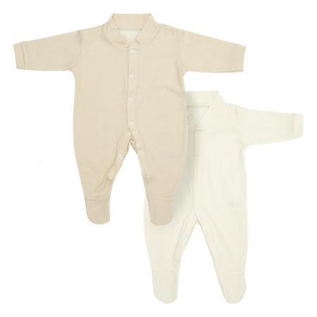 2 Pack Sleep Vests Cream