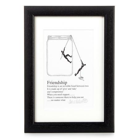 Anna Neilsen Friendship Print 4 x 6 Inch