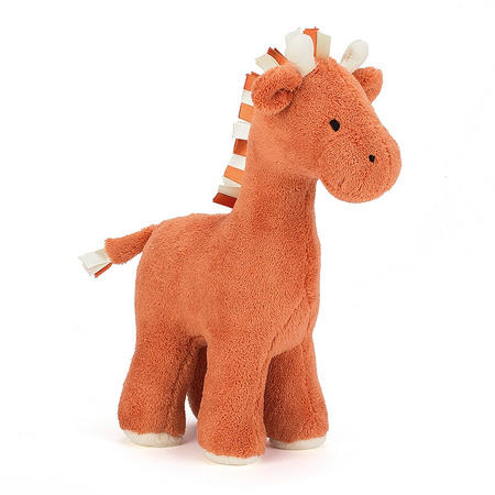 Chime Chums Giraffe 26cm Orange