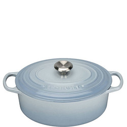 Oval Casserole Coastal Blue