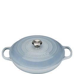 Shallow Casserole 30cm Blue