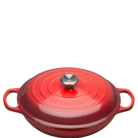 Shallow Casserole 30cm Red