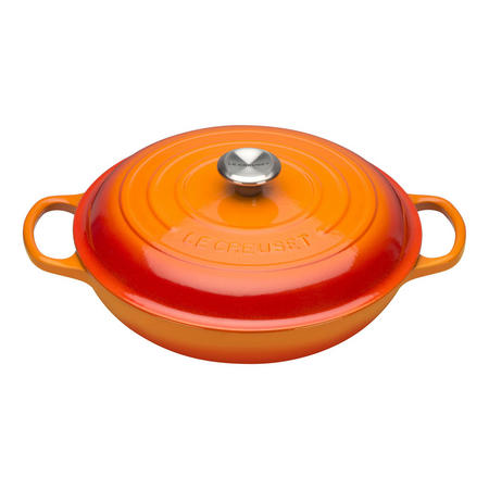 Shallow Casserole 30cm Orange