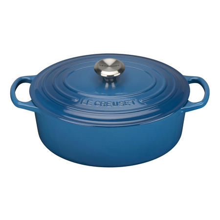 Oval Casserole Dark Blue