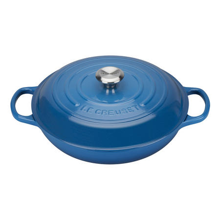 Shallow Casserole 30cm Dark Blue