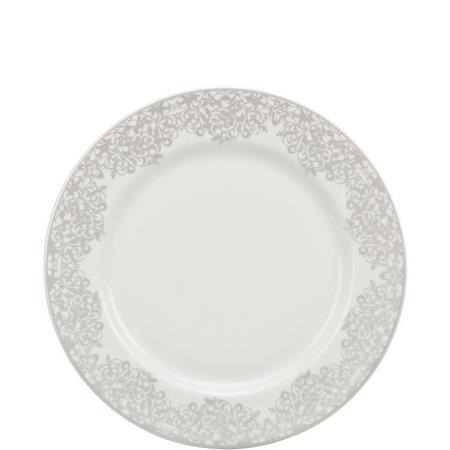 Monsoon Filigree Silver Dessert/Salad Plate