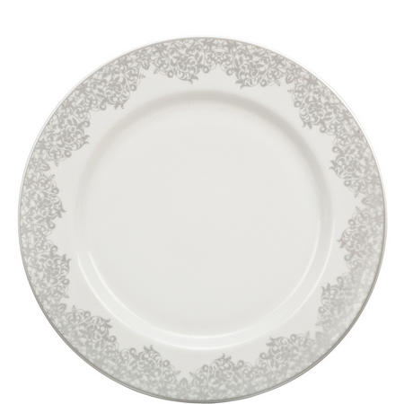 Monsoon Filigree Silver Dinner Plate