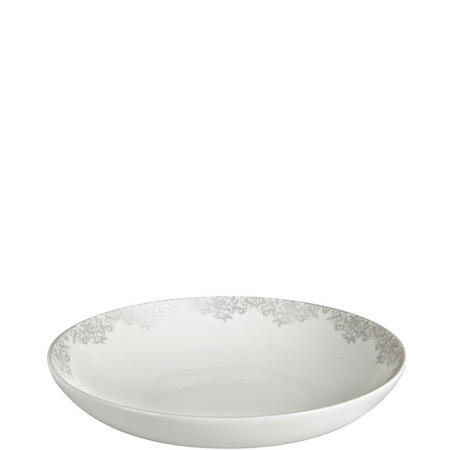 Monsoon Filigree Silver Pasta Bowl