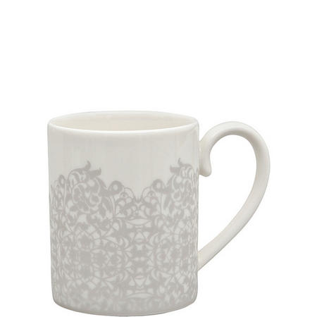 Monsoon Filigree Silver Can Mug