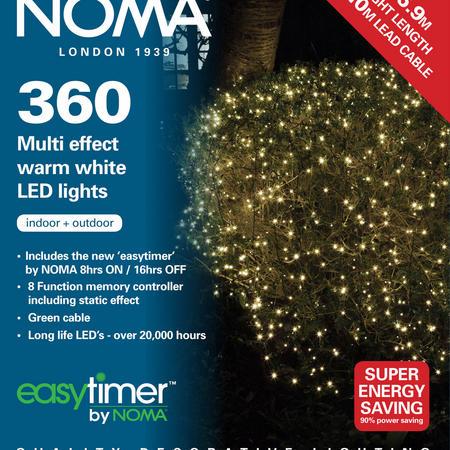 360 LED Multifunction Warm White Lights