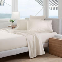 Classic Percale Coordinated Bedding Set Chalk