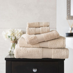 Bliss 650gsm Towel Light Brown