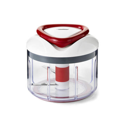 Easy Pull Food Processor Red