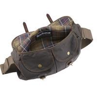 Waxed Satchel Bag Green