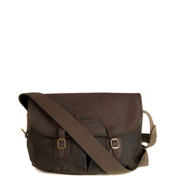 Waxed Satchel Bag Green
