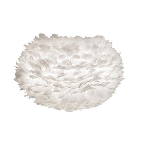 Eos Hanging Shade Feather White 45 x 30 Cm