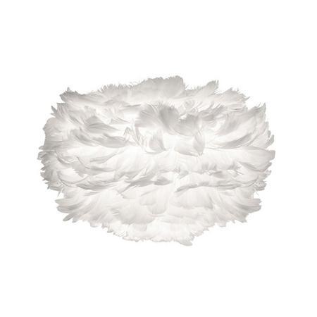 Eos Hanging Shade Feather Mini White 35 x 20 Cm