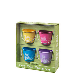 Toy Box Egg Cup Pails Set of 4