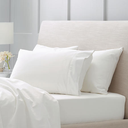 Hotel-Weight Luxury 1000tc Pillowcase Square Snow