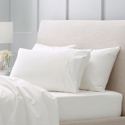Hotel-Weight Luxury 1000tc Pillowcase Square Snow