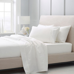 Hotel-Weight Luxury - 1000tc Flat Sheet Snow