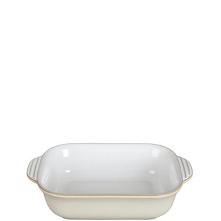 Linen Rectangular Dish Small