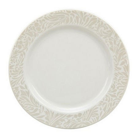 Monsoon Lucille Gold Pastry Plate