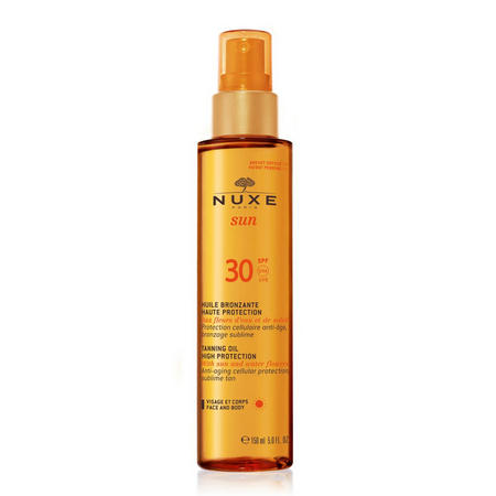 Tanning Oil High Protection for Face and Body SPF 30