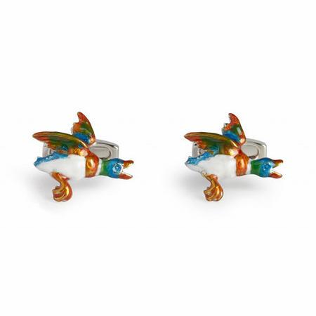 Flying Duck Cufflink Multicolour
