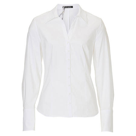 Button-Up Blouse  White
