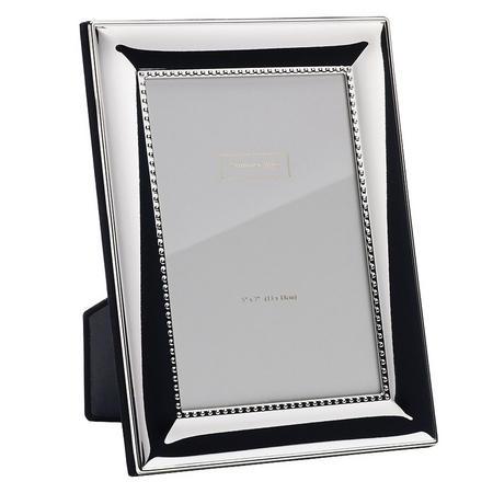 Silver Shot Frame 5 x 7 Inch