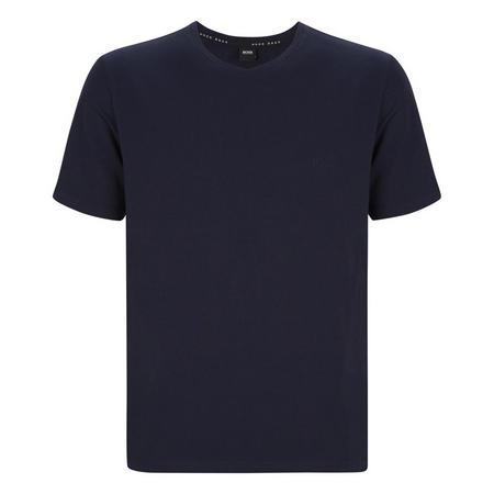 Crew Neck Cotton T-Shirt Navy
