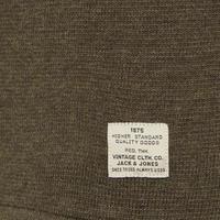 Union Knit Crew Neck Sweater Khaki